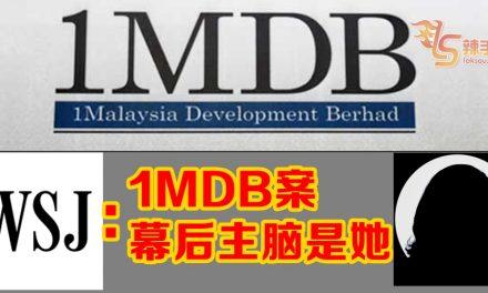 华尔街时报:调查发现1MDB案的核心是罗丝玛!