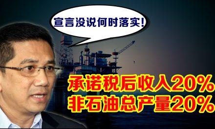 阿兹敏:20%石油税 没有点名何时落实