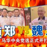 """【不断更新】""""颜郑""""力撼""""魏马"""" 另加程咬金 马华党选正式开打!"""