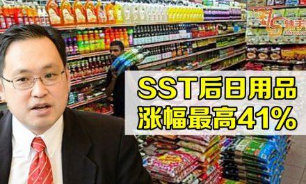 贸消部副部长:SST后115样产品涨价