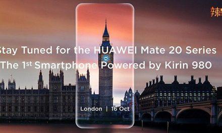 Huawei今晚推出最新Mate20系列手机