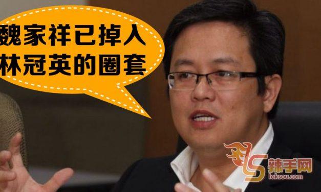 颜炳寿:魏家祥已掉入林冠英的圈套