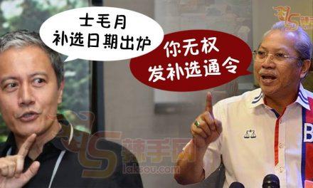 士毛月补选日期违宪?