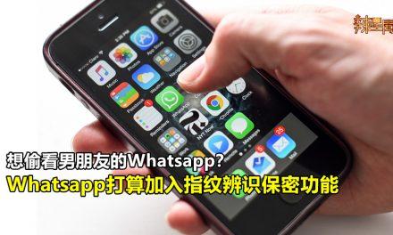 Whatsapp或加入指纹辨识保密功能