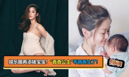 """娱乐圈再添猪宝宝!""""香香公主""""岑丽香生了"""