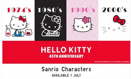 Uniqlo再度与Sanrio合作推出联名款服饰