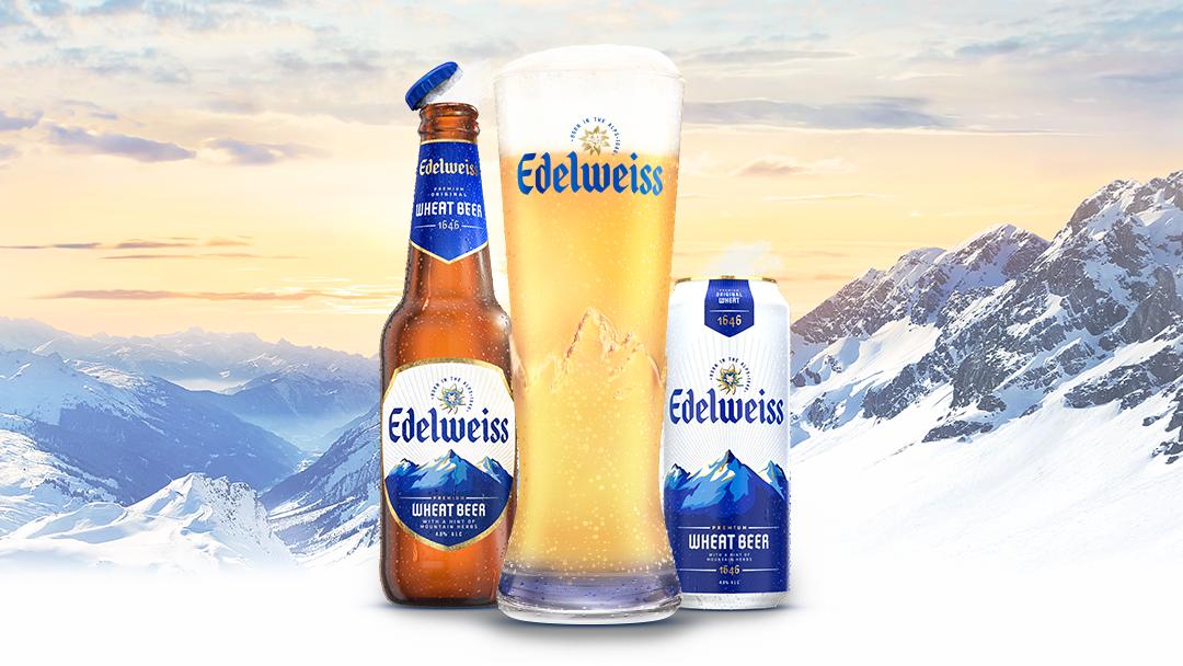 HEINEKEN推出全新小麦啤酒Edelweiss